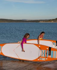 WindSUP stand-up paddle-board / all-around / inflatable / PVC