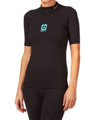 mystic-wetsuits-mystic-women-s-bipoly-short-sleeve-thermal-rashvest-black