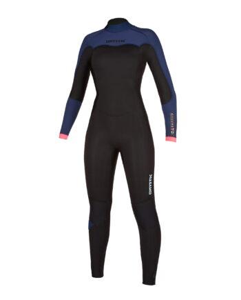 Mystic hidrotērps Dazzled Fullsuit 4/3mm Bzip Women
